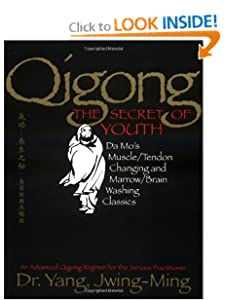 Qigong, The Secret of Youth: Da Mo's Muscle/Tendon Changing and Marrow/Brain Washing Classics [Paperback] — by Yang Jwing-Ming