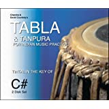 Tabla & Tanpura for Indian Music Practice: Tintal in the Key of C#