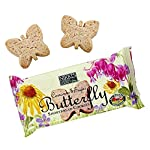 Cinnamon and Sugar Butterfly Shortbread Cookies