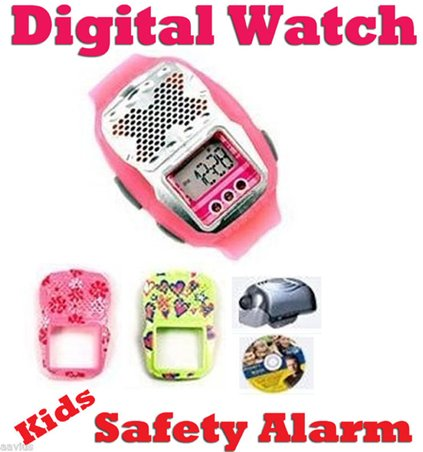 Onguard Kids Digital Watch With Safety Alarm With front-794671