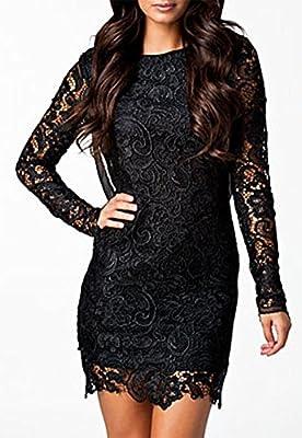 made2envy Crochet Lace Open Back Vintage Dress