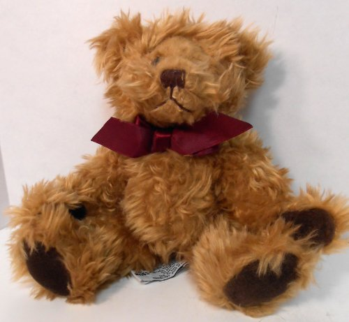 Gregory Bear By Russ Golden Brown Bear With Chocolate Brown Velvet Padded Paws - 1