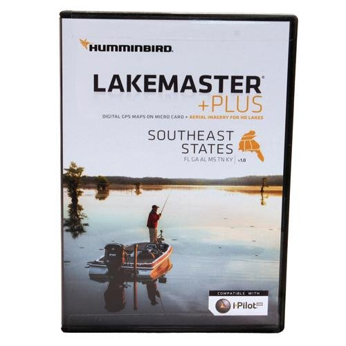 Humminbird Lakemaster Southeast States Contour Electronic Map, Black