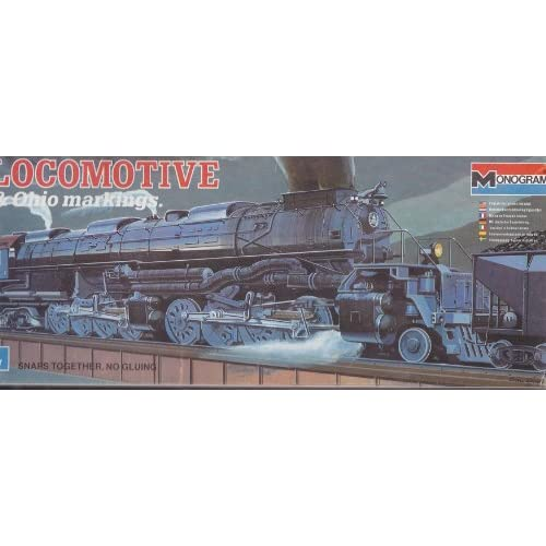 Ho scale big boy locomotive
