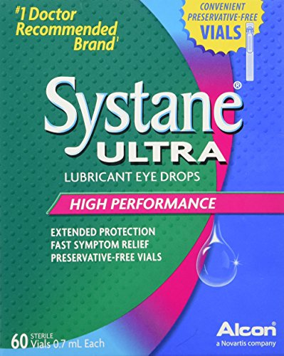 Systane Vials Eye Drops, 60 Count (Refresh Optive Preservative Free compare prices)