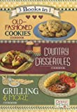 img - for Debbie Mumm 3 Books in 1: Old-Fashioned Cookies Cookbook, Country Casseroles Cookbook, Grilling & More Cookbook book / textbook / text book