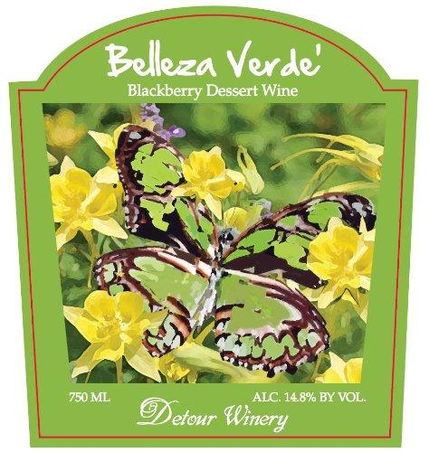 Nv Detour Belleza Verde' Blackberry Dessert Wine 750 Ml