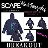 SCAPE 15-16 MARK GONZALES WOMEN'S COACH JACKETジャケット レディース スノーボードウェア 2016 M SKATE