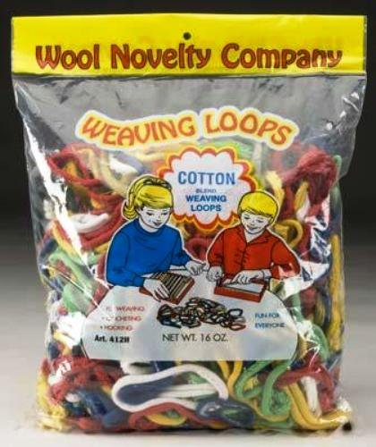 Wool Novelty Cotton Weaving Loops, 16-Ounce - 1