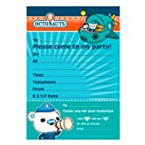 20 Octonauts Party Adventure Captain Barnacles Party Invitations Plus Envelopes