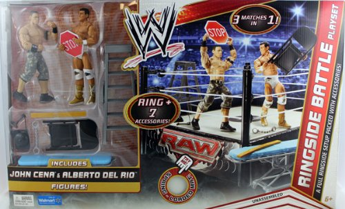 Thomas Fletcher Save Wwe Ringside Battle Playset W John Cena