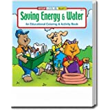 Saving Energy and Water Coloring and Activity Book