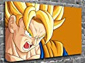 "Dragon Ball Z - Goku Animated Comic Canvas Art Canvas Print Picture print Size: (24"" x 16"")"