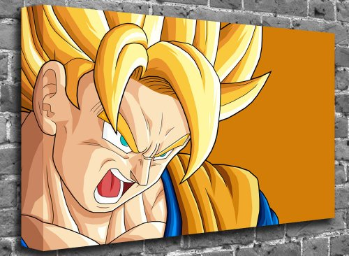 "Animated Comic Canvas Art Canvas Print Picture print Size: (24"" x 16"