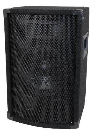 Pro Audio 10'' 2-Way Pa / Dj Sound Reinforcement Speaker 400W