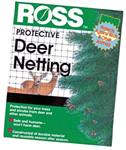 Easy Gardener 15464 Ross 7-by-100-Foot Deer Netting