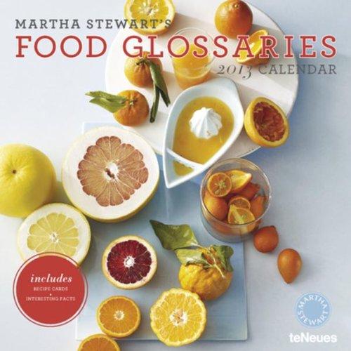 martha-stewarts-food-glossaries-2013-calendar