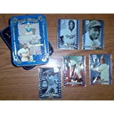 Metallic Impressions Embossed Metal Collector's Cards Special 5 Card Jackie Robinson Edition