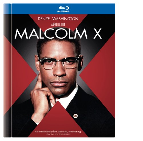 Cover art for  Malcolm X (Blu-ray Book)