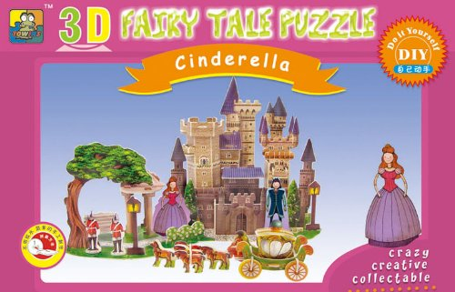 Cheap China Towins Gifts & Toys 3d Foam Paper Puzzle-cinderella (B003FXFU86)