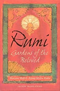 """Cover of """"Rumi: Gardens of the Beloved"""""""