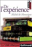 echange, troc Michel de Montaigne - De l'expérience, chapitre 13 du livre III des essais