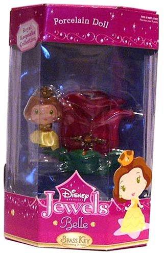 Disney Jewels Porcelain Doll ~ Belle - Buy Disney Jewels Porcelain Doll ~ Belle - Purchase Disney Jewels Porcelain Doll ~ Belle (Disney, Toys & Games,Categories,Dolls,Porcelain Dolls)