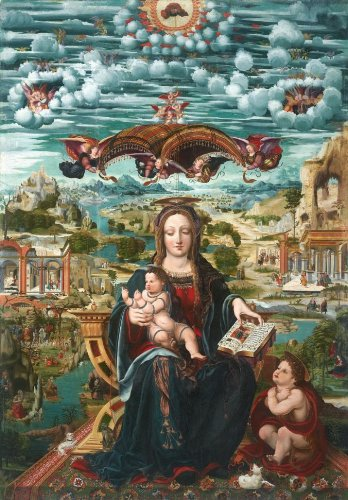Artifact Puzzles - Joan de Burgunya Virgin and Child