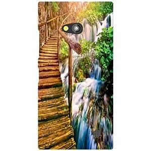 Nokia Lumia 730 Back Cover - Rain Designer Cases