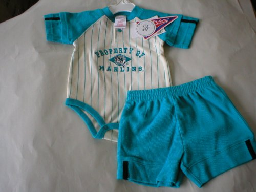 Florida Marlins Baby Creeper and Shorts - Buy Florida Marlins Baby Creeper and Shorts - Purchase Florida Marlins Baby Creeper and Shorts (Kid Athlete, Kid Athlete Apparel, Kid Athlete Toddler Boys Apparel, Apparel, Departments, Kids & Baby, Infants & Toddlers, Boys, Shorts)