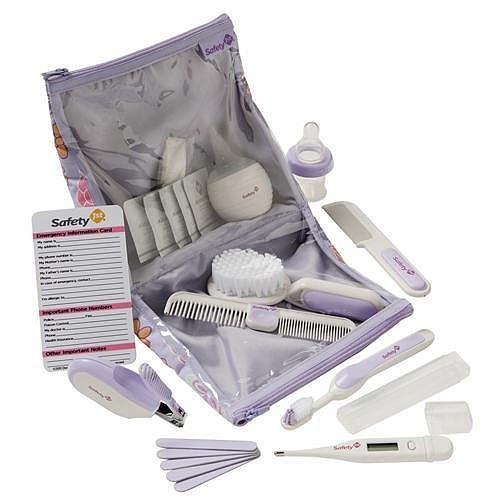 Safety 1st Baby Kit in Lavender (Deluxe Healthcare & Grooming Kit) - 1