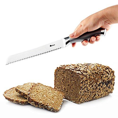 ORBLUE Stainless Steel Serrated Bread Slicer Knife - 1