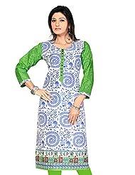 Pakistani Long Anarkali Long Printed Embroidery Kurtis