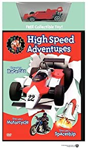 Real Wheels: High Speed Adventures [DVD] [Region 1] [US Import] [NTSC]