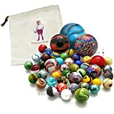 All Mixed Colours - Hand Picked Glass Marbles