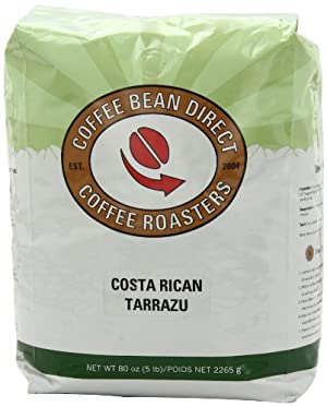 Coffee Bean Direct Costa Rican Tarrazu, Whole Bean Coffee