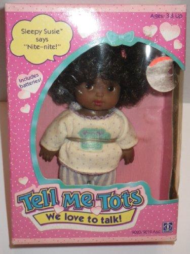 "Vintage 1990 Tell Me Tots ""Sleepy Susie"" - 1"