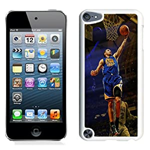 DIY Ipod Touch 5 Case Design with Golden State Warriors Stephen Curry Ipod Touch 5 5th Generation Phone Case in White