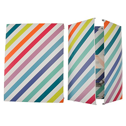 impacto-paris-42319-technicolor-de-plastico-con-caja-diseno-de-rayas-multicolor-talla-3-345-x-26-x-1