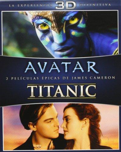 Pack: Avatar + Titanic [Blu-ray]