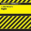 Night: CliffsNotes Audiobook by Maryam Riess, M.A. Narrated by Luke Daniels