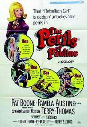 The Perils Of Pauline Pat Boone Pamela Austin Terry Thomas Original Movie Poster