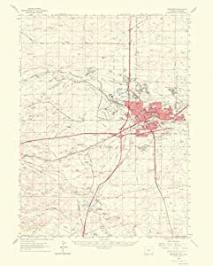 Amazon.com: Historical Topographic Maps - CHEYENNE QUADRANGLE WYOMING