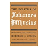 The Politics of Johannes Althusius