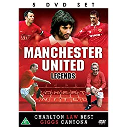 Manchester United Legends - 5 DVD SET