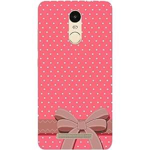 Casotec Gift Design Hard Back Case Cover for Xiaomi Redmi Note 3
