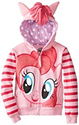 My Little Pony Big Girls\' Pinky Pie Hoodie, Pink/Multi, 7/Small