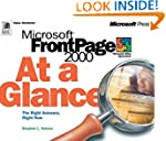 FrontPage 2000 at a Glance (At a Glan...
