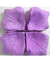 Bestofferbuy - 1000 Pétales De Rose En Soie Couleur Violette Confettis Pour Mariages Et Fêtes