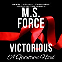 Victorious: Quantum Series, Book 3 Audiobook by  M.S. Force Narrated by Brooke Bloomingdale, Cooper North